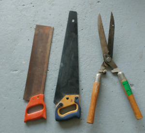 Saws and shears