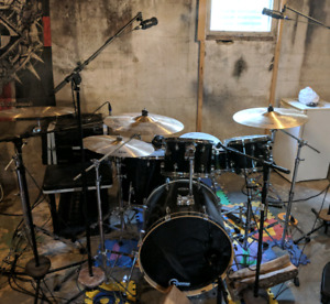 Drums/cymbals/hardware for sale