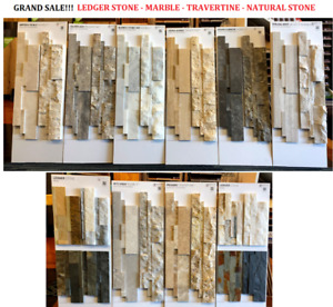 GRAND SALE & DEALS! LEDGER STONE - FIREPLACE STONE - FOR WALLS