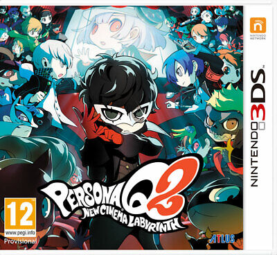 Persona Q2 New Cinema Labyrinth (3DS) NEW AND SEALED - IN STOCK - QUICK DISPATCH