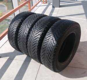 Set of four 195/65/15 Goodyear Nordic winter tires