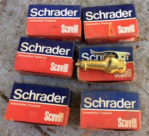 Vintage Schrader air chucks
