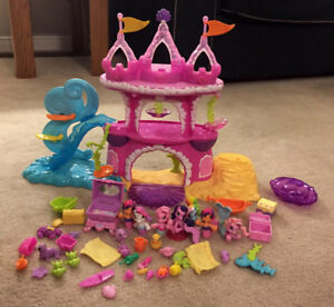 My Little Pony Mermaid Figures and Castle Bundle
