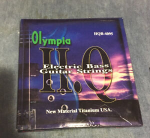 Olympia Electric Bass Strings