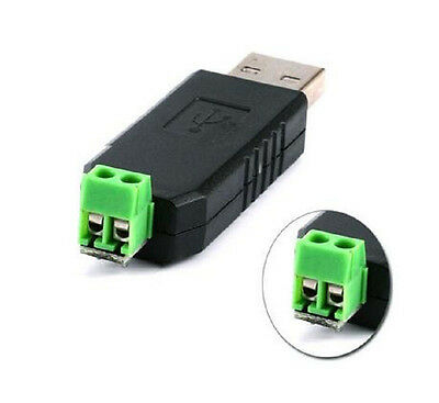 2 Pcs Usb To Rs485 485 Converter Adapter Module Support Win7xpvistalinux
