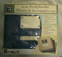 I'm SELLING set of 3 NEW DELUXE Scrapbook Albums