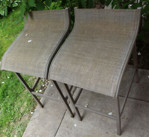 Pair of patio bar stools - as is $ 10 for both