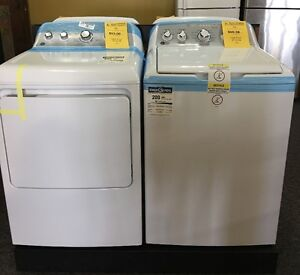 BRAND NEW GE WASHER & DRYER COMBO $999.99