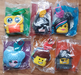 Mcdonalds Happy Meal Toys The Lego Movie 2 Bundle 6 Different Toys New