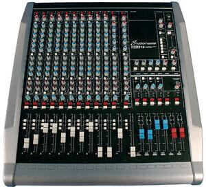 Mixer Studio Master Entrer