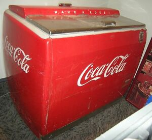 Excellent Vintage COCA COLA Machine 50's Working Beautiful