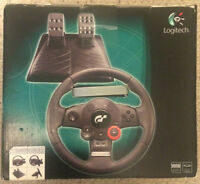 NEW Logitech Driving Force GT Steering Wheel PS3 PC USB *PS4