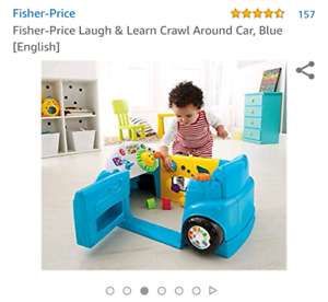 Laugh & learn crawl car