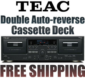 TEAC-W-890R-Double-Auto-reverse-Cassette-Deck-and-Recorder-TEAC-W890R