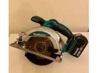Makita LXT 18V Circular Saw + 4Ah Battery Power DSS610 Bosch