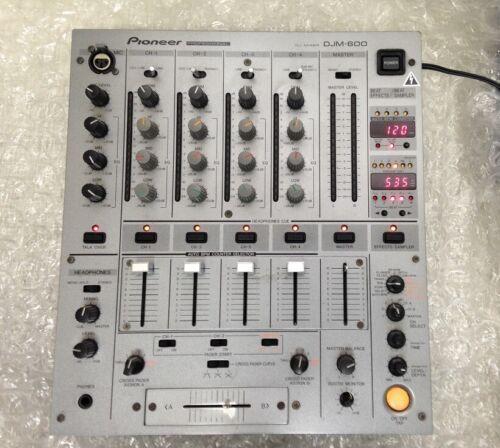 PIONEER DJM-600 silver Professional DJ Mixer