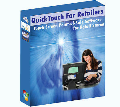 Retail Touch Screen Pos Point Of Sale Software - User Friendlyeasy To Learn