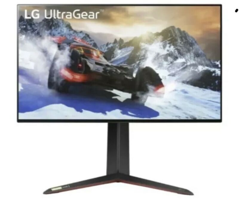 "LG 27GP950-B UltraGear 27"" 4K UltraHD IPS LED 144Hz HDMI 2.1Gaming Monitor"