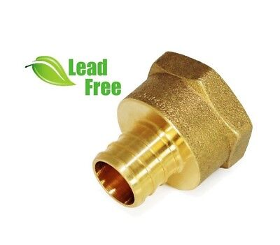 34 Pex X 1 Female Fip Thread Adapter - Brass Fitting - Epfa3410-nl