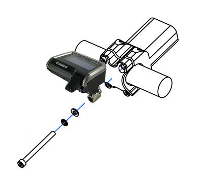 Shimano Di2 System Information Disply Mount for SC-M9050 /SC-MT800 /SC-M9051