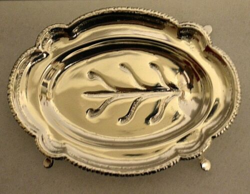 Miniature Sterling Silver Tray Dollhouse 1:12 Artist William B. Meyers