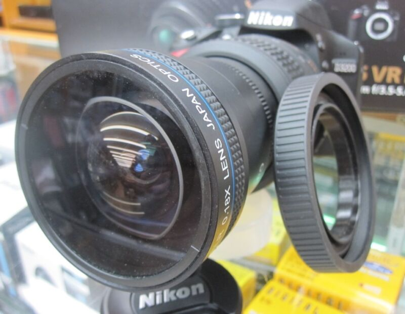 Ultra Wide fisheye Macro lens Hood for Nikon d5200 d3100 d5100 d3200 d40x d50 b