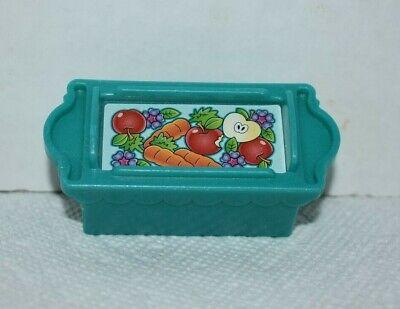 Fisher Price Little People Teal/Green Food Crate for Disney Princess Klip Klop