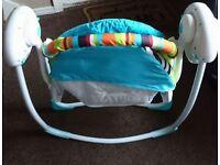 Bright Starts swinging baby chair