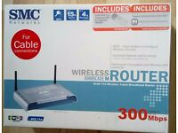 SMC Wireless Router.