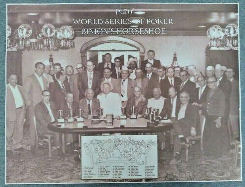 1970 1st World Series of Poker Binion
