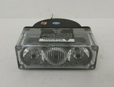 Code 3 3-up Optix Exterior Led Light Amber