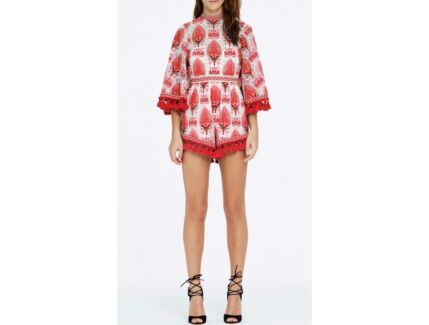Alice McCall Young Hearts Run Free Playsuit