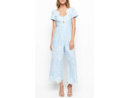 ALICE MCCALL Crave You Jumpsuit (Sky Blue) - Brand New with Tags