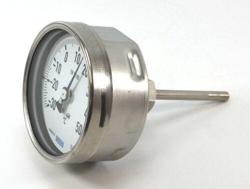 WIKA Bimetall-Thermometer 55 -30 - 50°C | Ø 100mm Gesamtlänge ca. 165mm NEU OVP