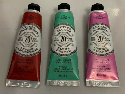 La Chatelaine 20% Shea Butter Hand Cream 3 Set Cranberry Win