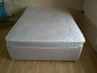 double bed frame + mattress perfect condition