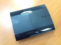 Ps3 Super Slim 500 GB + Deus Ex: Human Revolution+ 2 ORIGINAL ps3 contrloller