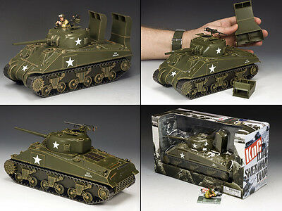 KING AND COUNTRY PLASTICS The D.DAY SHERMAN  D Day WW2 KnC001