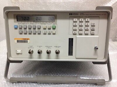 Hp 11757b Multipath Fading Simulator Signature Test Set