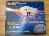 DX Active TV & FM caravan Antenna DTA 2000A, top Japanese brand, Digital & Analogue