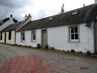 Character one-bed cottage for sale in South Lanarkshire.