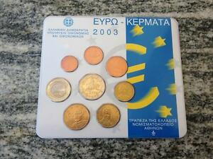 SERIE-DIVISIONALE-EURO-2003-GRECIA-GRIECHENLAND-GRIEKENLAND-GREECE-GRECE-KMS