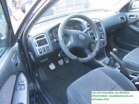 TOYOTA LEFT HAND DRIVE CONVERSION KIT, TOYOTA COROLLA, YARIS, AVENSIS, AURIS, CONVERT RHD CAR TO LHD