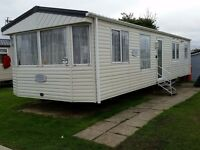 3 Bed Static Caravan For Hire / Rent Haven Church Farm Pagham West Sussex