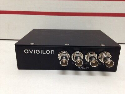 Avigilon Enc-4port Analog Video Encoder No Ac Adprtr