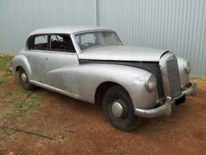 rare 1953 Mercedes Adenauer w186 resto project $15000 swap/trade