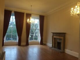 Stunning Spacious Georgian 1/F (unfurnished) flat in West End