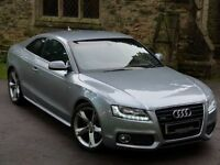 ABSOLUTELY STUNNING - 2008 AUDI A5 3.0 SPORT QUATTRO 2DR + SAT NAV + HEATED SEATS + 19 INCH ALLOYS