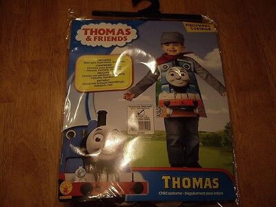 2 Friends Costumes Halloween (NWT Boys Size 2-4 Thomas and Friends Thomas Costume)