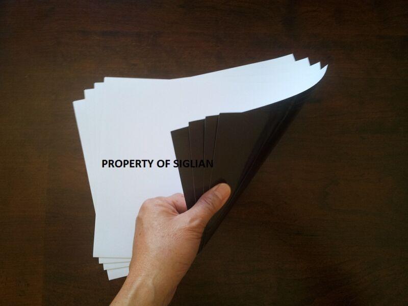 MATTE Printable Magnet Paper  (60 SHEETS)